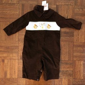 NWT Mom & Me Mother Goose Romper